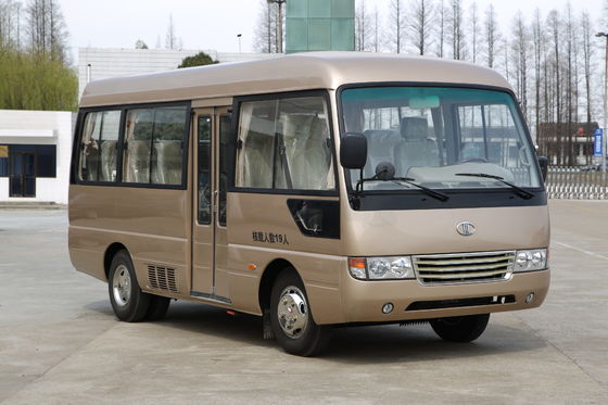 China Stadt-Transport-Bus Lishan MD6602, Art Passagier-Minibus 6 Meter-Mitsubishis Rosa fournisseur