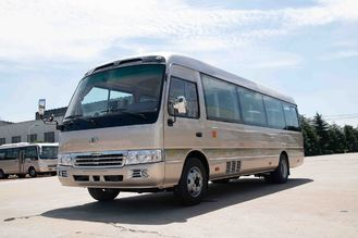 China Luxussitzer-Kleinbus-Hebel-Fuß-Pedal Besichtigungscummins engine der reise-30 fournisseur
