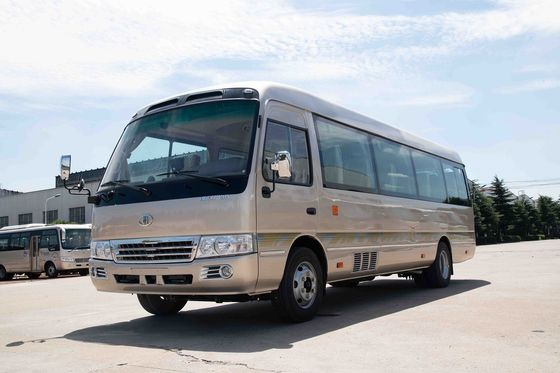 China Luxussitzer-Kleinbus-Hebel-Fuß-Pedal Besichtigungscummins engine der reise-30 distributeur