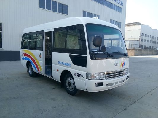 China 6M Länge 19 Sitzplatz Rosa Travel Tourist Minibus Sightseeing Europe Market distributeur